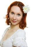Здоровая кожа молодой красивейшей стороны женщины Стоковые Фотографии RF