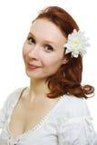 Здоровая кожа молодой красивейшей стороны женщины Стоковое Фото