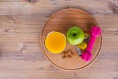 Здоровая концепция еды с плодоовощами Стоковые Фотографии RF