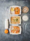 Здоровая поставка еды стоковая фотография rf