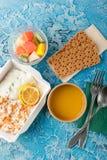 Здоровая поставка еды стоковые фотографии rf