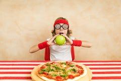 Здоровая принципиальная схема еды и образа жизни Зеленая вегетарианская еда стоковые изображения
