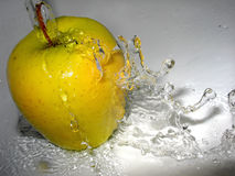 здоровое яблоко Стоковая Фотография
