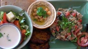 Здоровое vegeterian блюдо Этичная кухня акции видеоматериалы
