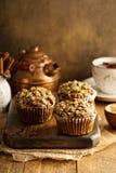 Здоровые булочки тыквы с семенами Стоковое Изображение