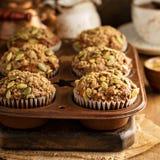 Здоровые булочки тыквы с семенами Стоковое Изображение RF