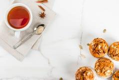 Здоровые булочки тыквы Стоковое Фото