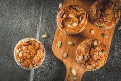 Здоровые булочки тыквы Стоковое Изображение RF