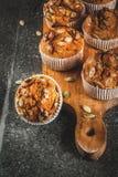 Здоровые булочки тыквы Стоковая Фотография RF