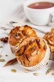 Здоровые булочки тыквы Стоковые Фото