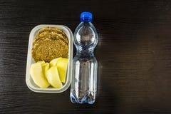 Здоровые вторые завтраки стоковая фотография