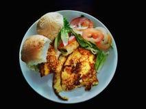 Здоровые еды послужены стоковое фото rf