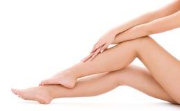 здоровые ноги Стоковые Изображения
