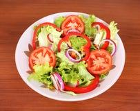 здоровые овощи салата Стоковое фото RF