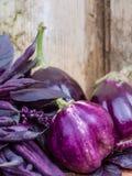 Здоровые органические овощи стоковая фотография rf