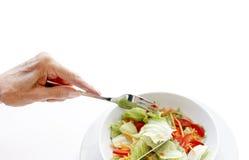 здоровые старшии питания Стоковые Изображения RF