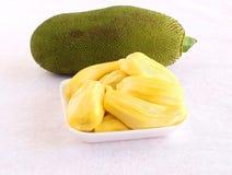 Здоровые Arils джекфрута еды в подносе Стоковые Изображения