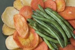 Здоровые Vegetable обломоки стоковые изображения rf