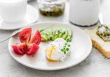 Здоровый вегетарианский завтрак Стоковое Изображение