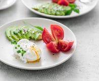 Здоровый вегетарианский завтрак Стоковое Фото