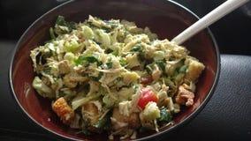 Здоровый домашний сделанный салат стоковые изображения