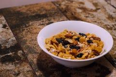 Здоровый завтрак, который нужно начать день стоковые фото