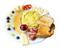 Здоровый завтрак стоковые изображения