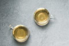 Здоровый китайский чай, церемония чая стоковое фото rf