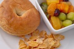 здоровый обед малышей Стоковая Фотография