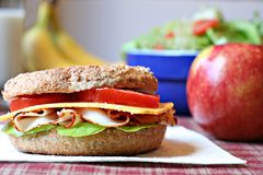 здоровый обед Стоковая Фотография RF