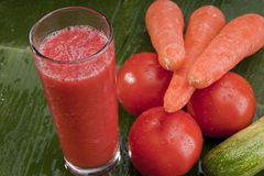 Здоровый освежая vegetable сок Стоковое Изображение RF
