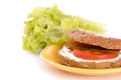 здоровый сандвич Стоковые Изображения RF