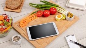 Здоровый состав пищи стоковая фотография