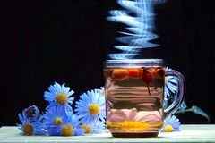 здоровый чай Стоковое Изображение