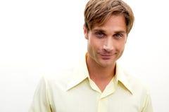 здоровый человек smirking Стоковые Фото