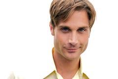 здоровый человек smirking Стоковое фото RF