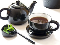 здоровый reasting чай Стоковая Фотография RF