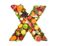 здоровье x алфавита Стоковое фото RF
