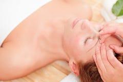 здоровье благополучия спы массажа Стоковые Изображения RF