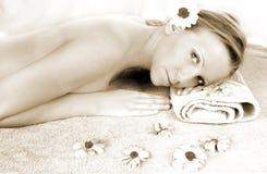 здоровье портрета красотки Стоковое Изображение RF