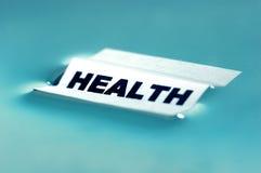 здоровье принципиальной схемы Стоковая Фотография