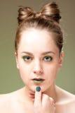 здоровье спы кожи медицинского соревнования внимательности красотки Стоковое Изображение RF