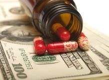 здоровье финансов стоковое изображение