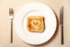 здравица плиты сердца Стоковые Фото