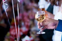 здравица шампанского Стоковое Изображение RF