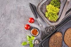 Здравицы Pesto выше Стоковые Фотографии RF