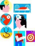 Здравоохранение/медицинская бесплатная иллюстрация