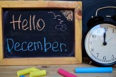 Здравствуйте! декабрь задняя школа принципиальной схемы к стоковое фото rf