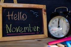 Здравствуйте! ноябрь задняя школа принципиальной схемы к стоковое фото