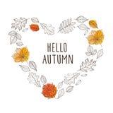 Здравствуйте! осень! Стоковые Фото